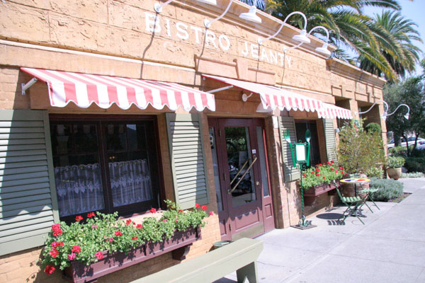 Bistro Jeanty in Yountville