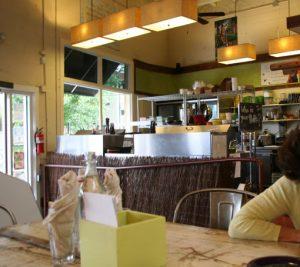 Cafe Gratitude Healdsburg interior