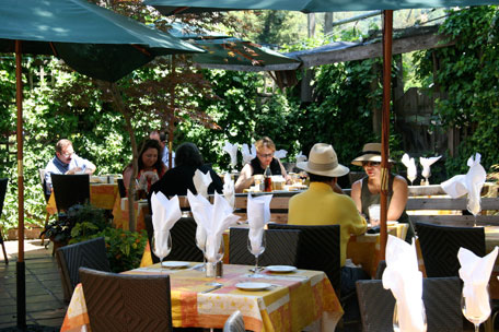 Outdoor Dining in Sonoma County