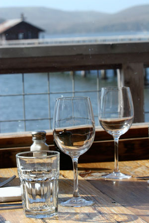 Sonoma's Lunch Aquatic: Pool, river & waterside dining