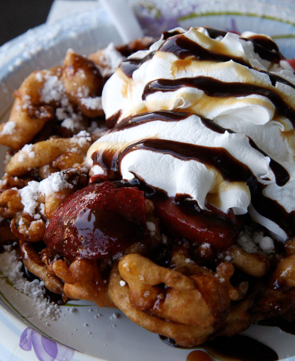 getting my just desserts funnel cake fury