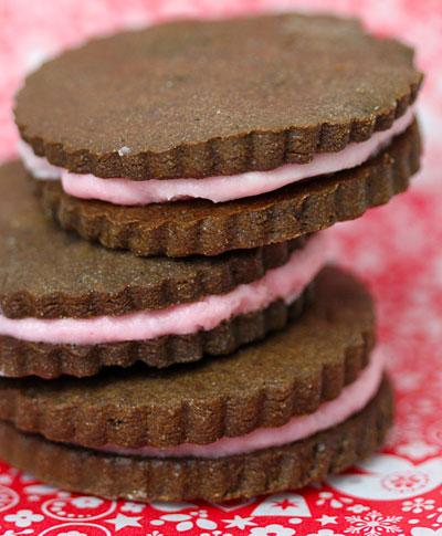 Minty Chocolate Sandwich Cookies | Holiday Cookies | Sonoma Wine ...