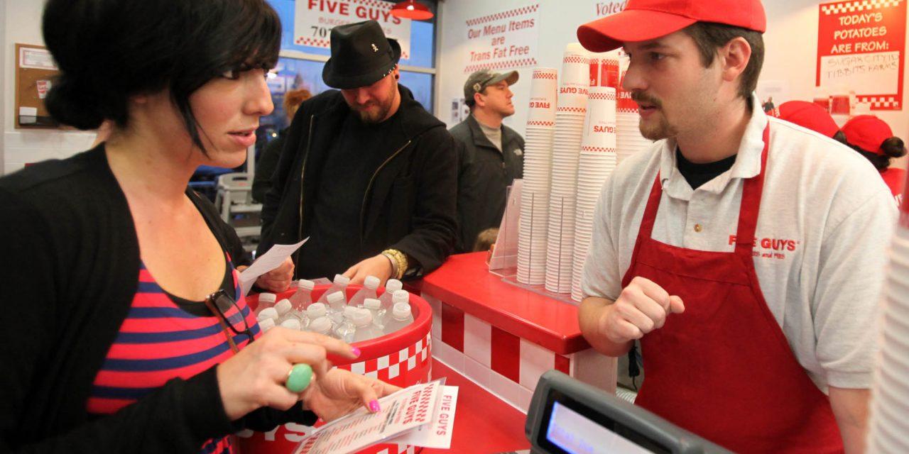 Five Guys Burgers & Fries | Santa Rosa