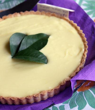 Best in Show; Meyer Lemon Rosemary Tarte