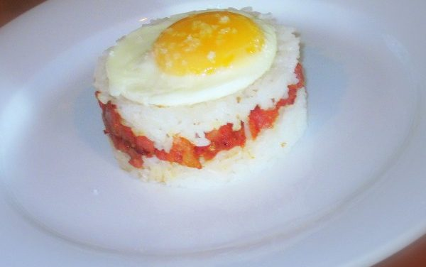 Hawaiian Sausage, Eggs & Rice Recipe
