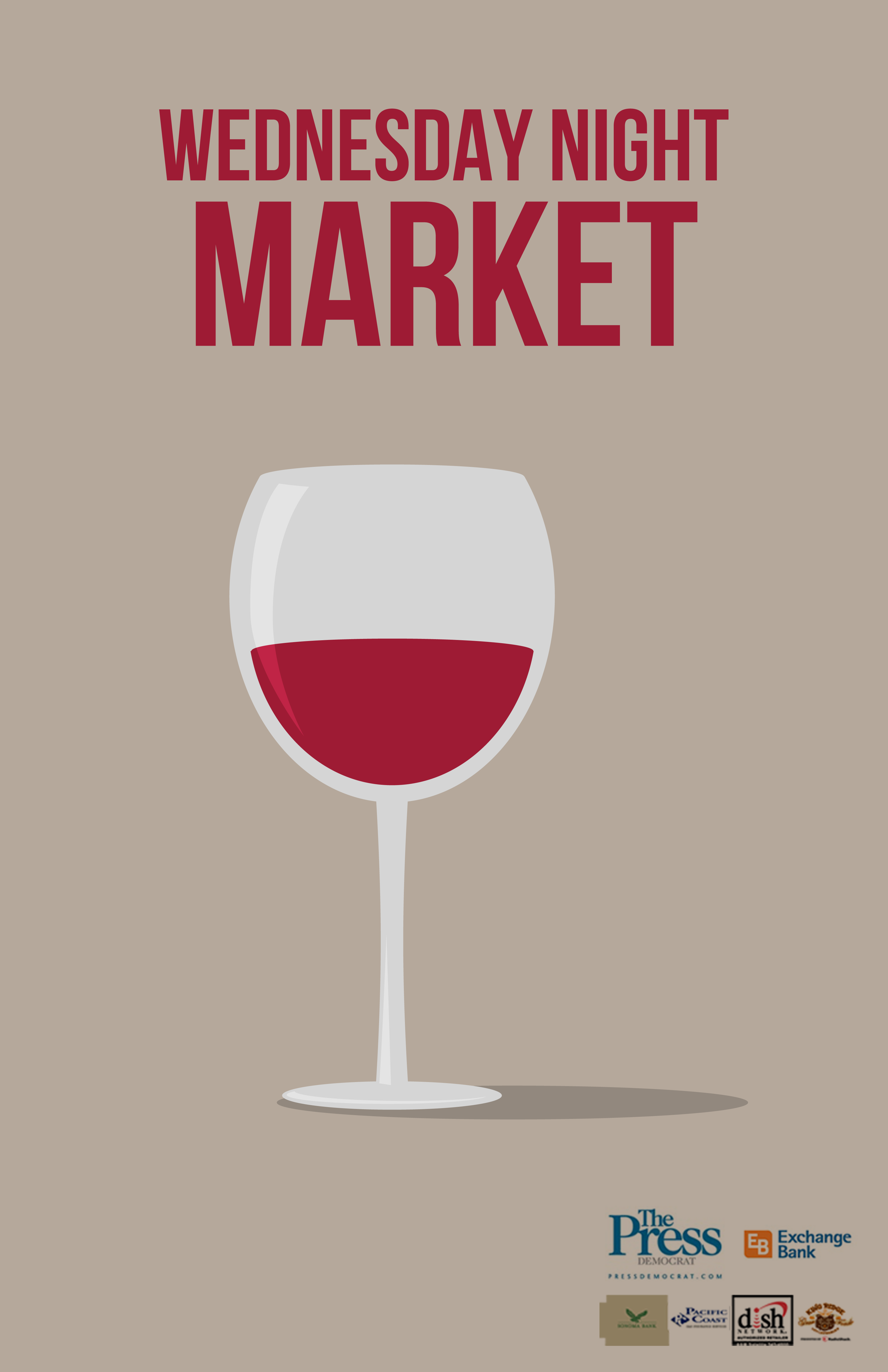 Wine Tasting on the Menu for Wednesday Market