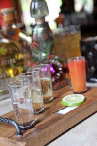Tequila Flight at La Rosa in Santa Rosa