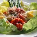 Lobster Salad at Rendez Vous bistro
