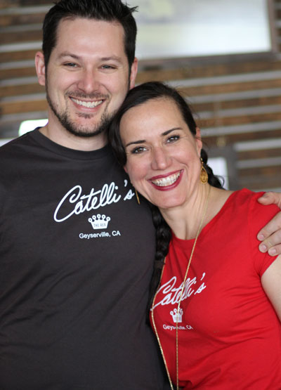 Nick and Domenica Catelli