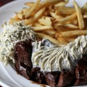 Steak Frites at Rendez Vous Bistro in Santa Rosa