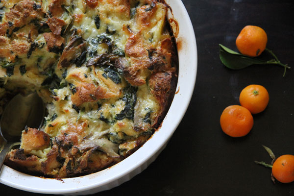 Bread & Egg Strata