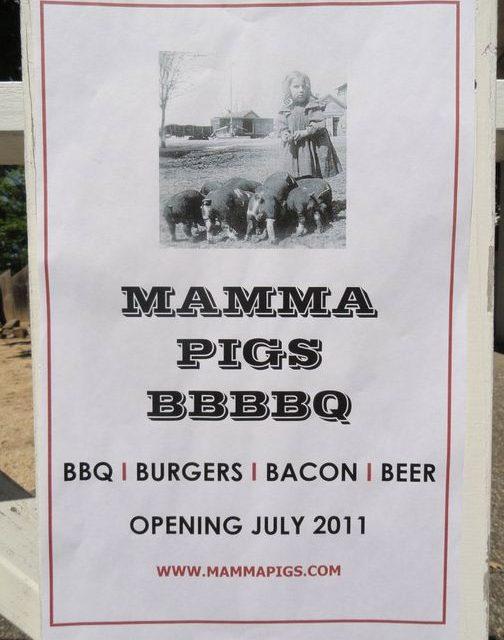 Mamma Pig's opening