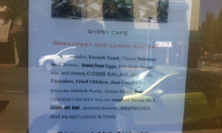 Gypsy Cafe opening in Sebastopol