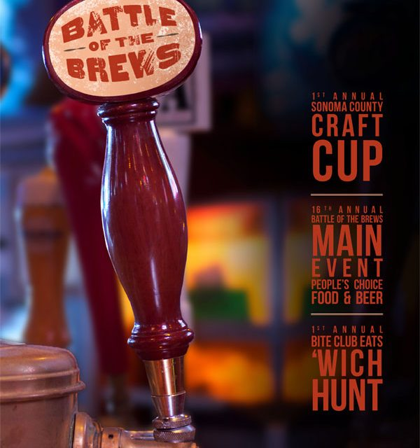 Battle of the brews 2012 for Beer craft rohnert park