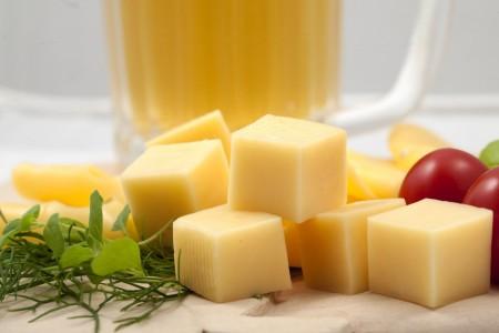 Cheese loves beer