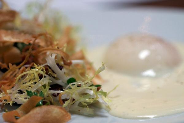 63 degree egg salad at Petite Syrah
