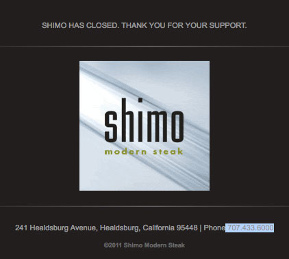 Has Shimo Closed?