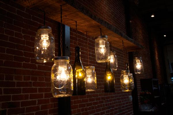 Forchetta Bastoni Wine bottle Lights