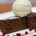 Molasses cake at Petite Syrah