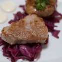 Pork loin and crepinette at Petite Syrah