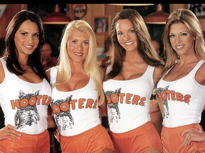 Hooters to RP in January 2012