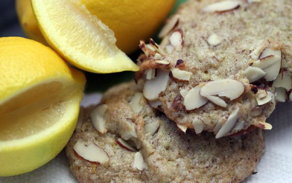 Vegan Almond Lemon Cookie Recipe