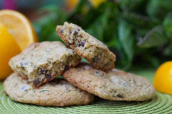 Basil orange cookie recipe