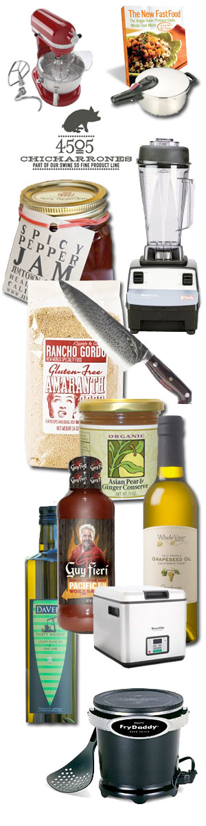 gift list for foodies 2011