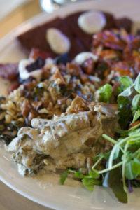 Lydia's Loving Organics Cooked Sampler Plate