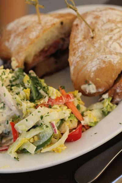 Brisket Sandwich at Sweet T's