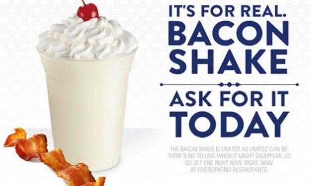 Bacon Milkshake at Jack in the Box