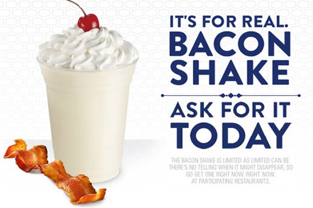 Bacon Milkshake at Jack in the Box