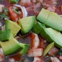 Shrimp Ceviche at El Rinconcito Yucateco | Yuzu Studios