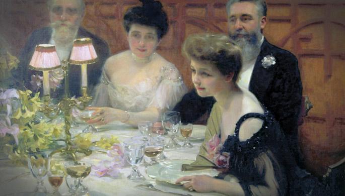 Titanic Dinner at Ca'Bianca