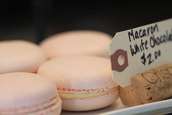 Macarons at Crisp Bakeshop in Sonoma. Heather irwin