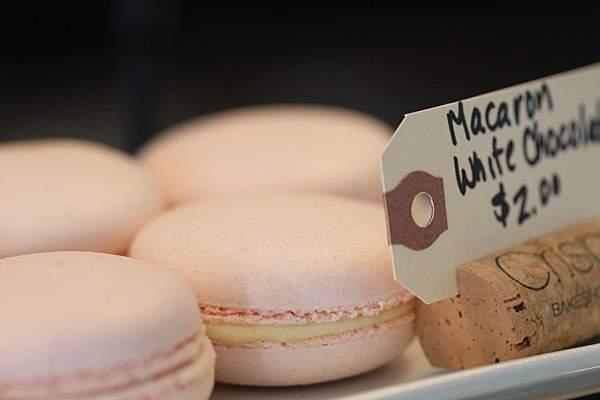 Macarons at Crisp Bakeshop in Sonoma. Heather irwin