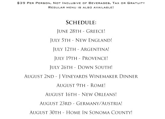 Summer Abroad at Petite Syrah
