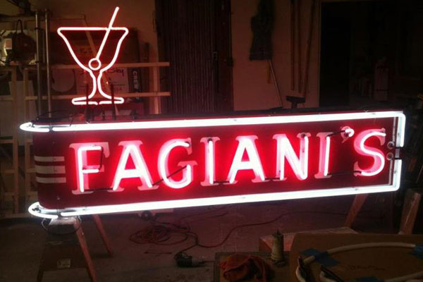 The Thomas and Fagiani's Bar in Napa