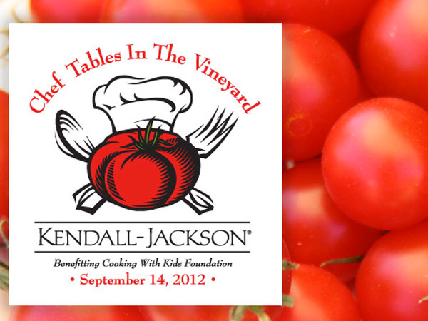 Chef Tables in the Vineyard at KJ TomatoFest 2012 include Fieri, Batali