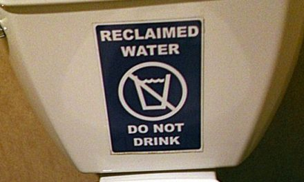 Don't Drink the Toilet Water