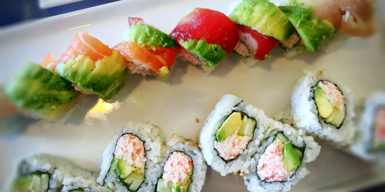 All You Can Eat Sushi in Sonoma County