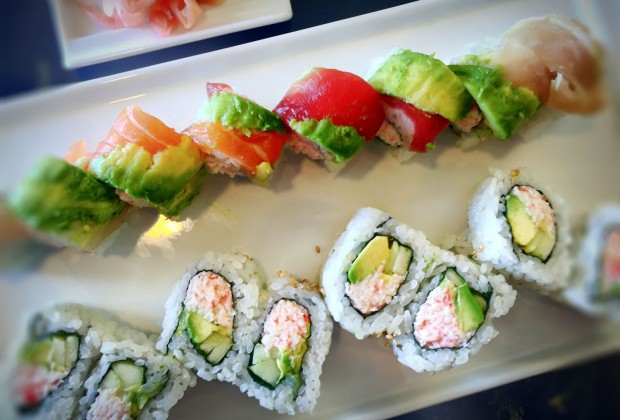 All you can eat sushi at Paradise Sushi in santa Rosa california on 4/25/16. (heather irwin)