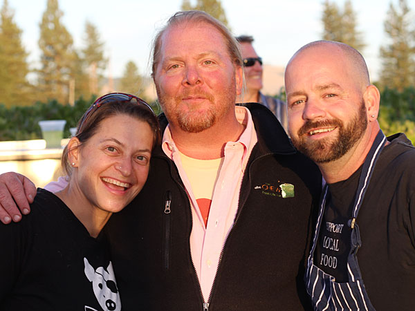 PIX: Chef Tables in the Vineyard with Mario Batali and Guy Fieri