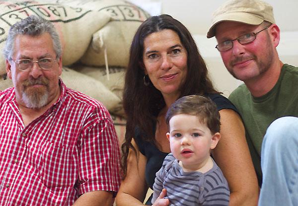 David Greenfield with Cynthia Buck, Jon Bixler and Giacomo Bixler