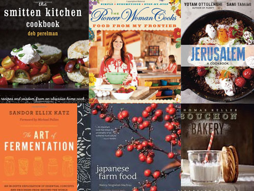 Best Cookbooks 2012