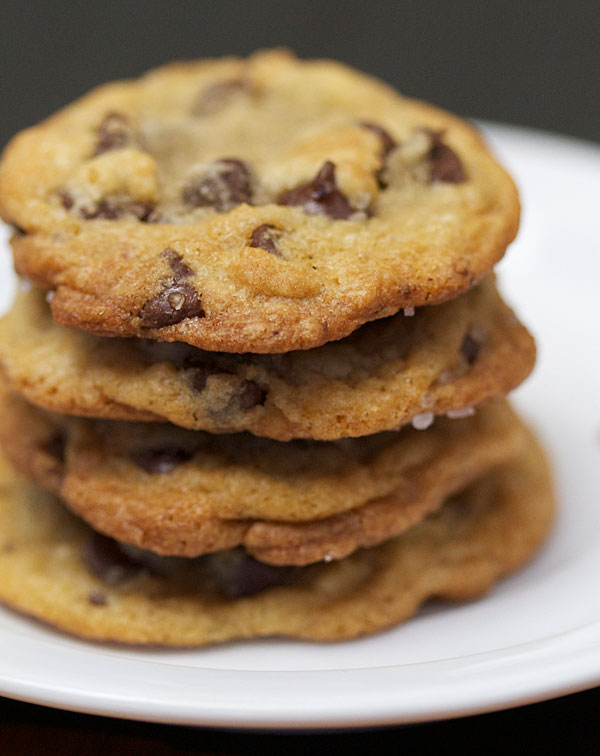 Salted Chocolate Chip Cookie Recipe | BiteClub Eats