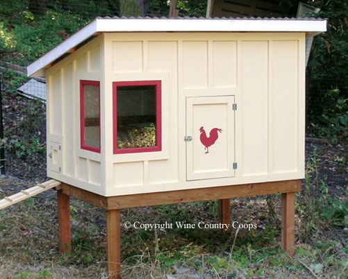 Want this chicken coop from Wine Country Coops.