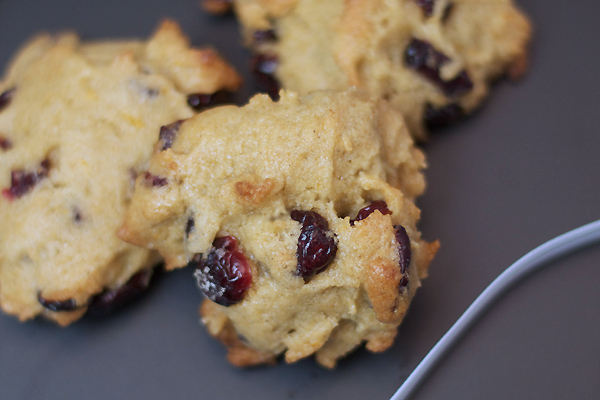 Cranberry Orange Gluten Free Cookie Recipe
