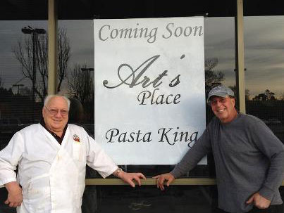 Pasta King Art Ibleto opening Art's Place in Rohnert Park