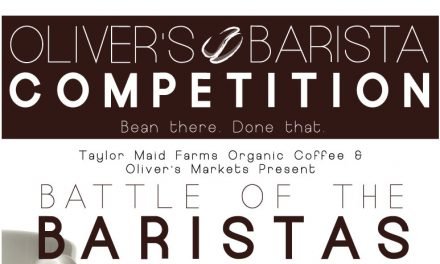 Taylor Maid Coffee Barista Finals at Oliver's Market
